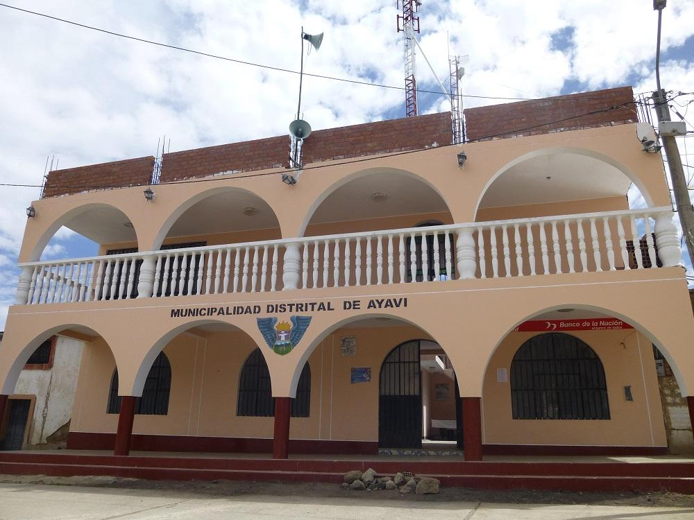 Local municipal de Ayaví